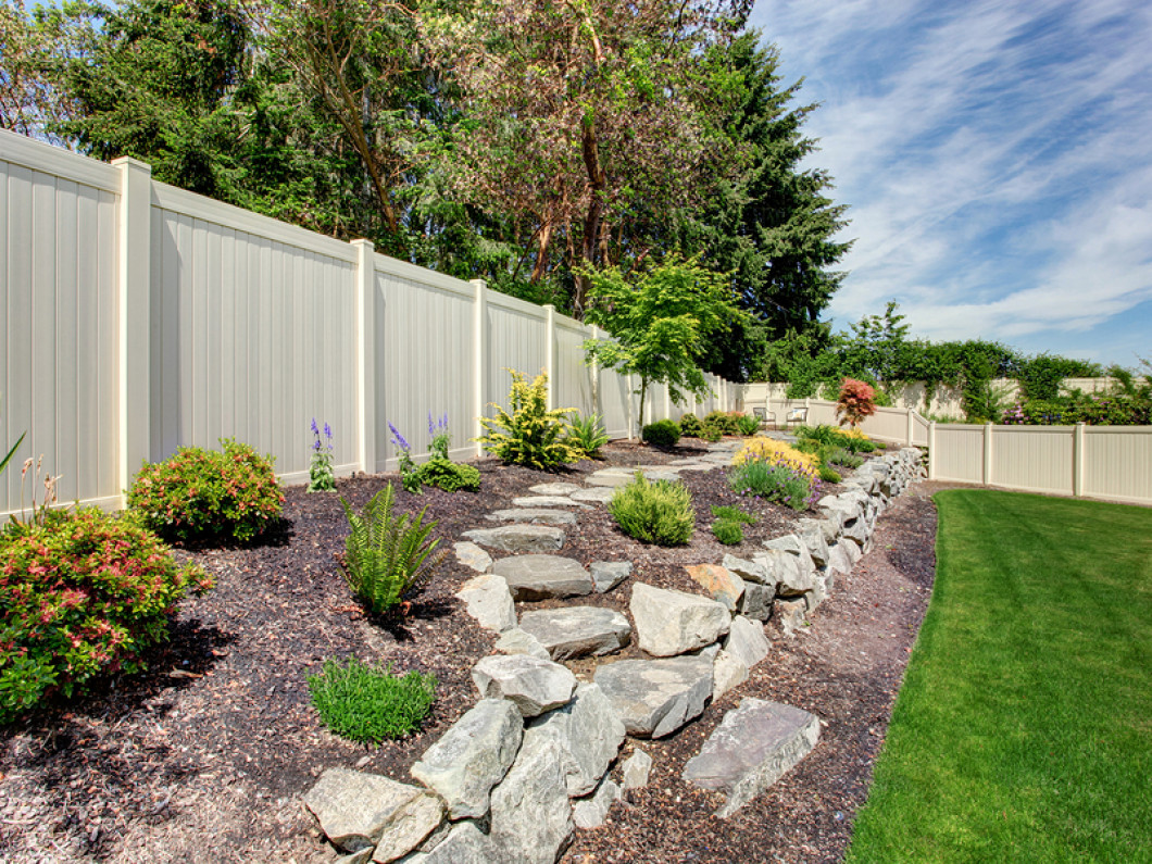 Surround your home with a protective fence